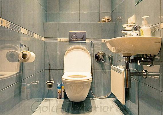Короб под трубы - место для хранения туалетных предметов
