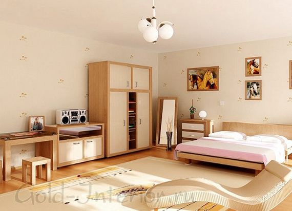 Красивый интерьер 1-комнатной