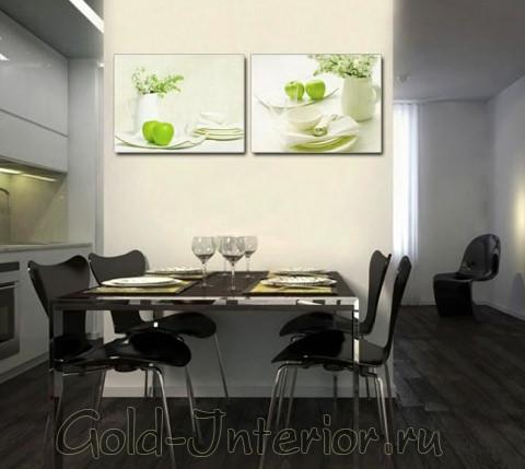Красивый натюрморт на современной кухне