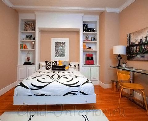 Красиво оформленные ниши в спальне