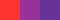 Красный, красно-фиолетовый и фиолетовый