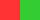 Красный и зелёный - дополнительные цвета из цветового круга