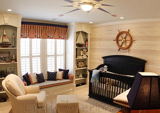 Кресло для мамы в комнате малыша