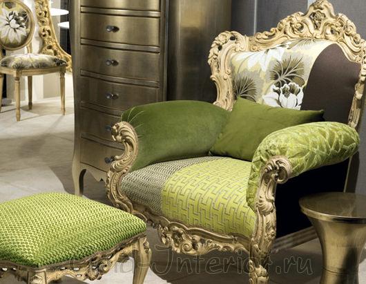 Кресло в барочном стиле