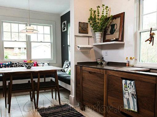 Кухонный уголок без спинки