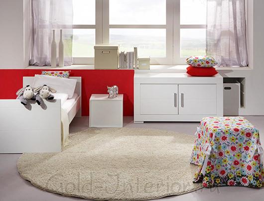 Мебель белого цвета в детской