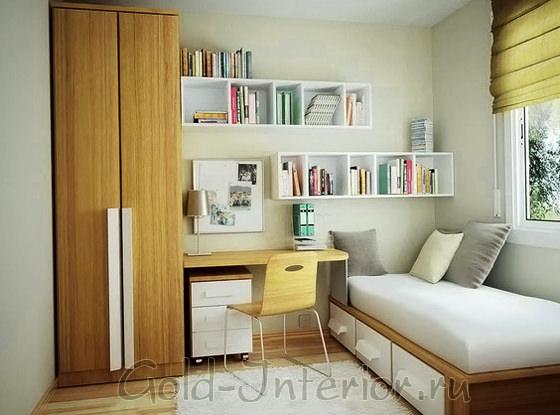 Многофункциональная мебель в спальной комнате