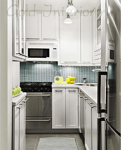 Мини-кухня в стиле хай-тек