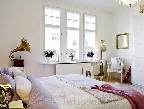 Минимализм и скандинавский стиль в спальне