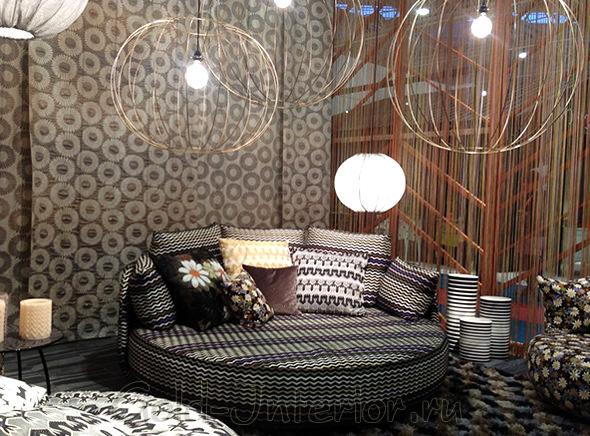Миссони хом - графичные диваны