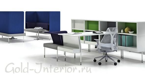 Модульная конструкция для офиса