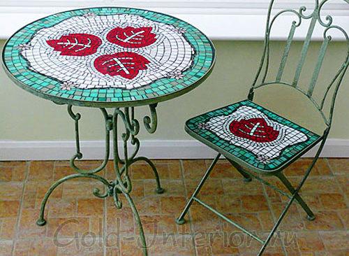 Мозаика для украшения мебели