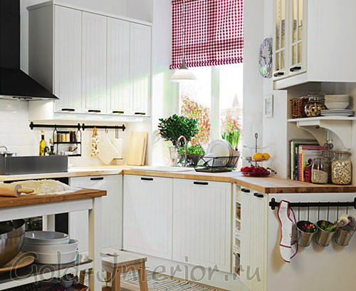 На фото интерьер малогабаритной кухни