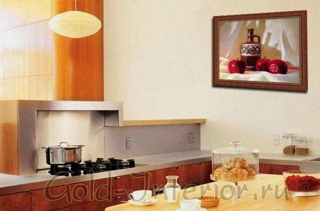 Натюрморт в интерьере кухни