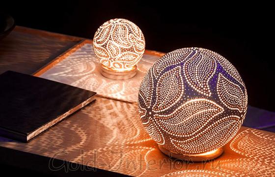 Необычно-красивые напольные светильники