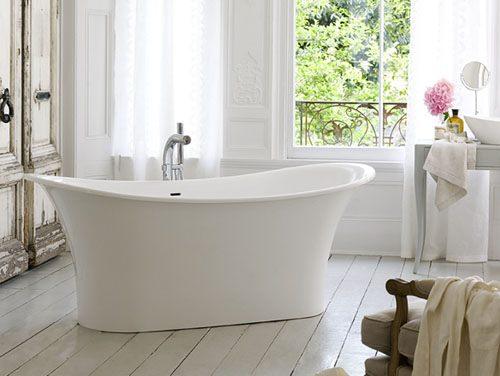 Нестандартная ванна необычной формы