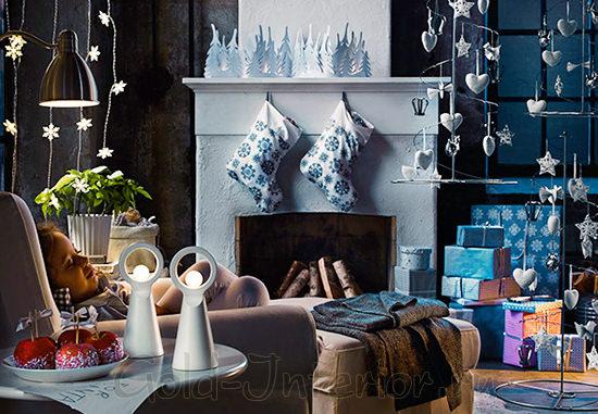 Новогодние подвески для интерьера 2014
