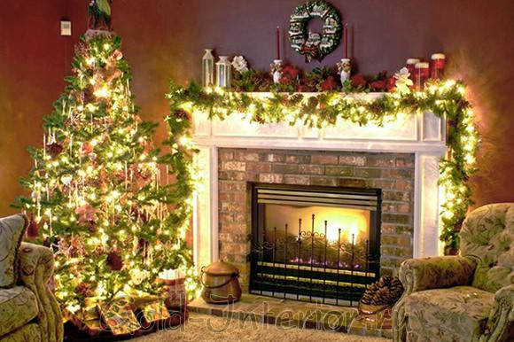 Новогодний декор интерьера дома