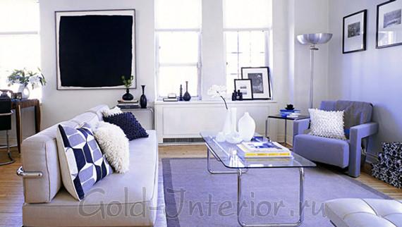 Оформление 1-комнатной квартиры картинами