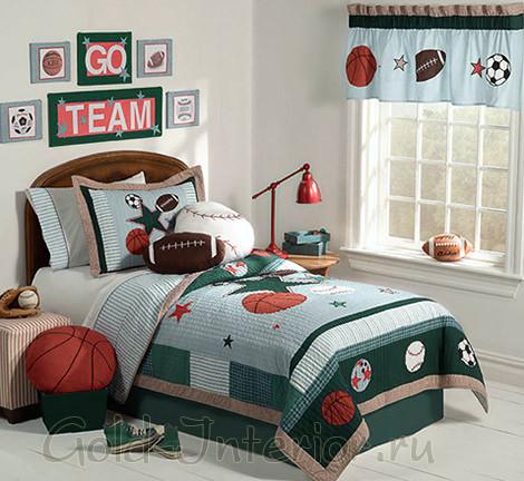 Оформление детской комнаты для мальчика 10-12 лет