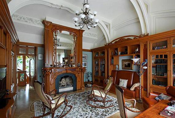 Оформление кабинета в стиле модерн