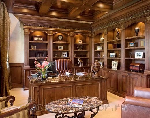 Оформление кабинета в викторианском жанре