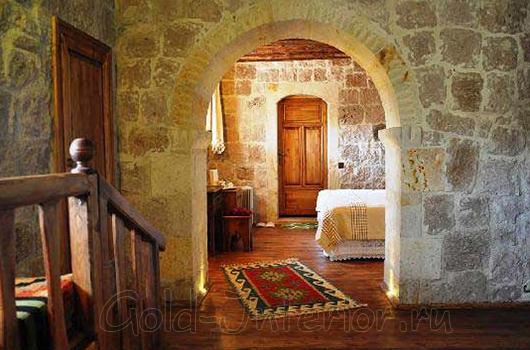 Оформление комнат в романском стиле