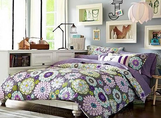 Оформление спальни для девушки
