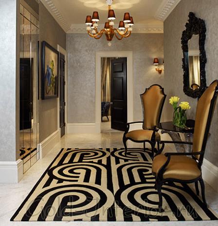 Дизайн прихожей в квартире в стиле модерн