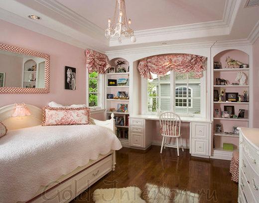 Оформление комнаты для молодой девушки