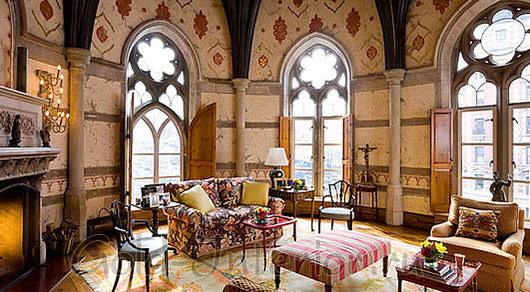Окна в романском стиле