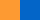 Оранжевый и синий цвет