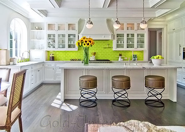 Освещение в дизайне гостиной-кухни