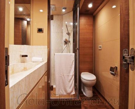 Потолочные светильники в ванной