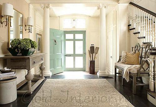 Прихожая и холл в греческом стиле