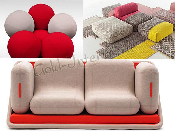 Пуфы, кресла и диваны 2013