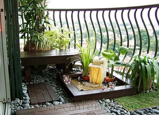 Разновидности балконов и лоджий