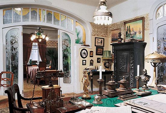 Русская комната в стиле модерн