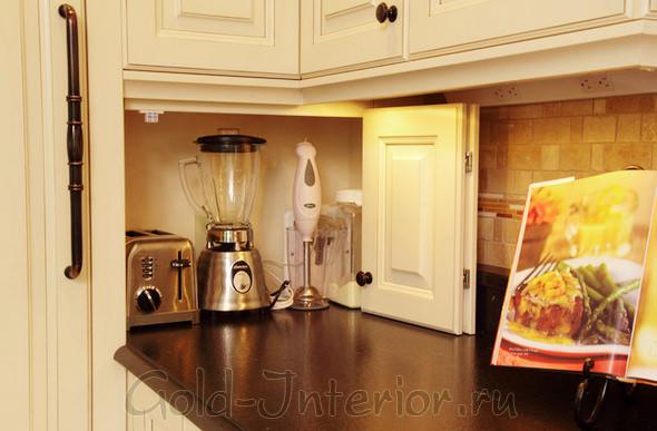 Шкафчик для бытовых кухонных приборов