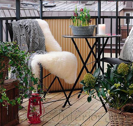 Шведский балкон