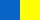 Контрастные цвета - синий и жёлтый