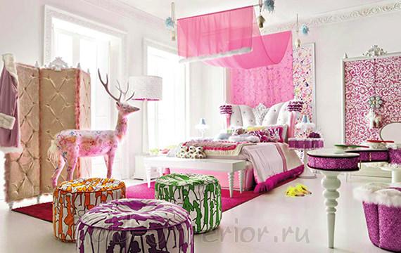 Сказочная комната для девочки подростка