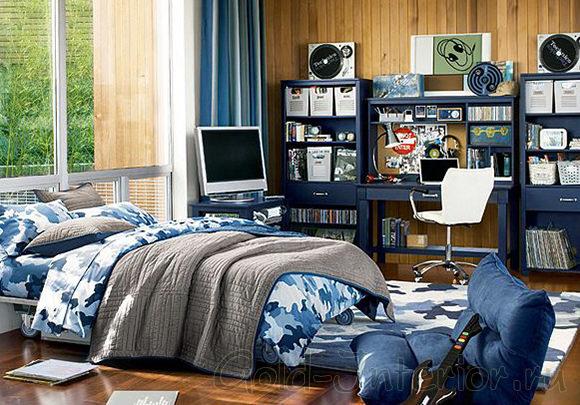 Интерьер комнаты для подростка мальчика 16 лет фото 12 кв