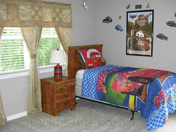 Спальня мальчика 6-9 лет