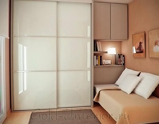 Спальня размером 9 кв м для студентов
