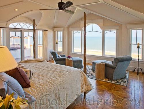 Спальня у самого побережья