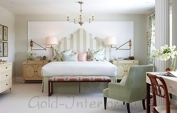 Стиль классический бидермейер в спальне