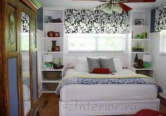 Стиль фьюжн в спальной комнате 12 кв метров