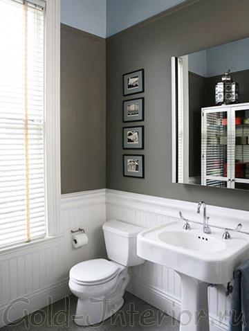 Стиль минимализм в оформлении туалета