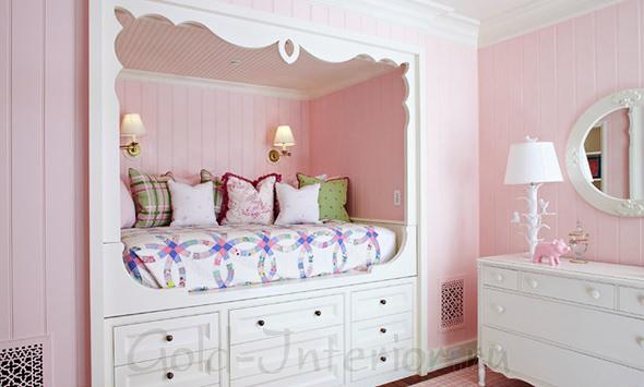 Стиль прованс в девичьей спальне